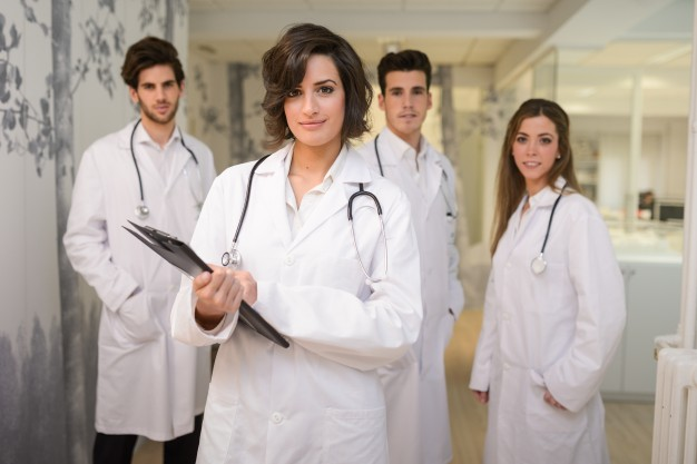 A group of doctors